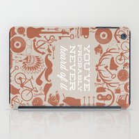 The Study of Hipsters iPad Case