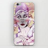 Wood Nymph iPhone & iPod Skin