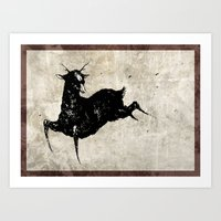Be a Deer Art Print