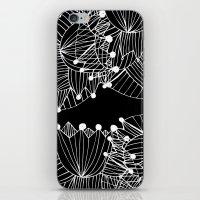 Black Tulip iPhone & iPod Skin