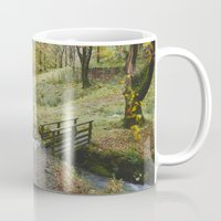 Footbridge And Beech Tre… Mug