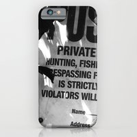 iPhone & iPod Case featuring Trespassing by Brittany Garrett
