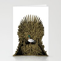 Game On Throne Stationery Cards