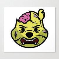 Zombie Winnie Canvas Print