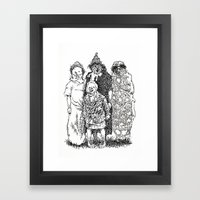 Trick R' Treat Framed Art Print