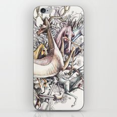 Twisted Menagerie iPhone & iPod Skin