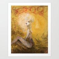 Tumult Art Print