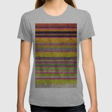 Burn Baby Burn Womens Fitted Tee Athletic Grey SMALL