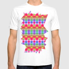 Pretty Mens Fitted Tee SMALL White