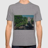 explore the city  Mens Fitted Tee Athletic Grey SMALL