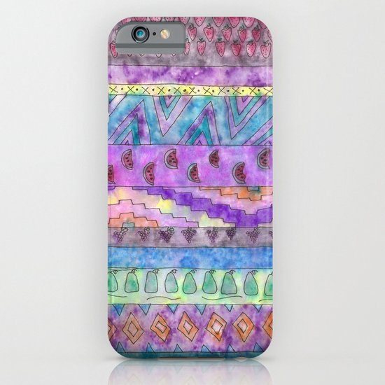 Tribal Fruit iPhone & iPod Case