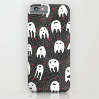iPhone Cases featuring aggressive teeth by lazy albino