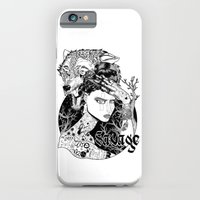 iPhone & iPod Case featuring Be one with the wild by jean-baptiste MUS