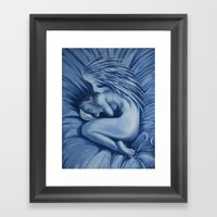 I Want To Stay In Bed To… Framed Art Print