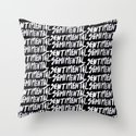 Semimental Throw Pillow