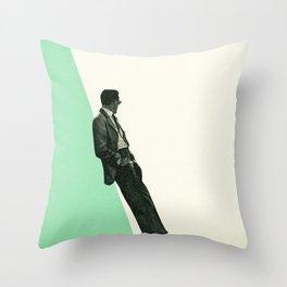 Throw Pillow - Cool As A Cucumber - Cassia Beck