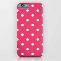 Polka Party Red iPhone 6 Slim Case