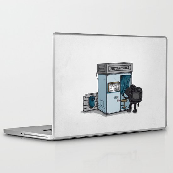 Take a Shoot Laptop & iPad Skin
