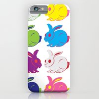 iPhone & iPod Case featuring Rabbit by sudarshana