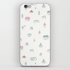 Little Houses iPhone & iPod Skin