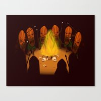 Tribe Of Hannibals Canvas Print