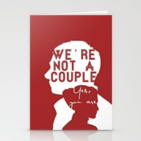 Not A Couple Stationery Cards