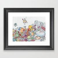 Valo And Vili - A Boy Go… Framed Art Print
