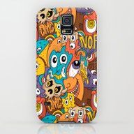 Weird Guys Pattern Galaxy S5 Slim Case