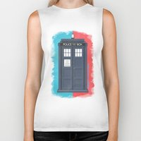 10th Doctor - DOCTOR WHO Biker Tank