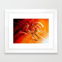 Light n' shad Framed Art Print