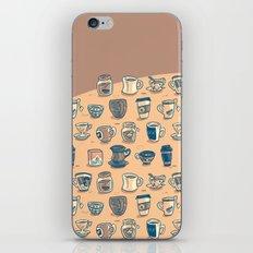 Coffee & Tea & Butts iPhone & iPod Skin