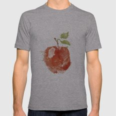 Apple 06 Mens Fitted Tee Athletic Grey SMALL