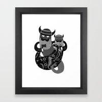 The Bearded Men of the Sea N0.2 Framed Art Print