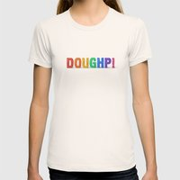 Doughp! Womens Fitted Tee Natural SMALL