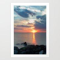 Sandy Hook Sunset Art Print