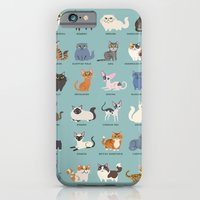 iPhone & iPod Case featuring Cats! by DoggieDrawings
