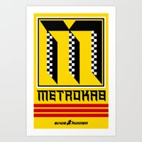 BladeRunner- MetroKab Art Print