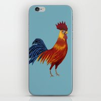 Rooster-3 iPhone & iPod Skin