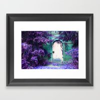 we're all mad here... Framed Art Print