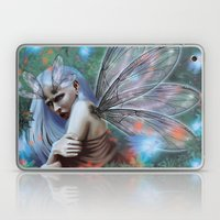 Dragonfly Lady Laptop & iPad Skin