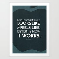 Typographic Quote Design… Art Print