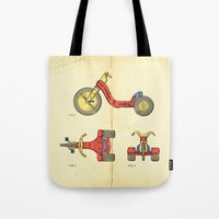 Big Wheel Tote Bag