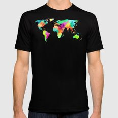 We Are Colorful Mens Fitted Tee Black SMALL