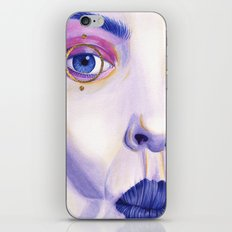 Close Up 4 iPhone & iPod Skin