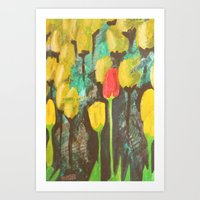 stand out Art Print