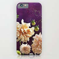 Dahlias in Space iPhone 6 Slim Case