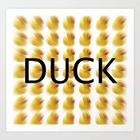 Duck s Art Print