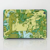 Green Town iPad Case