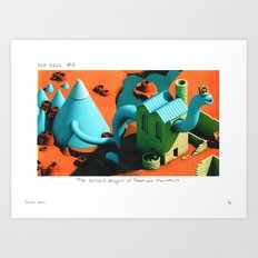 POP HELL #6 Art Print