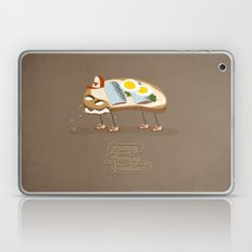 Grumpy Herring Sandwich Laptop & iPad Skin